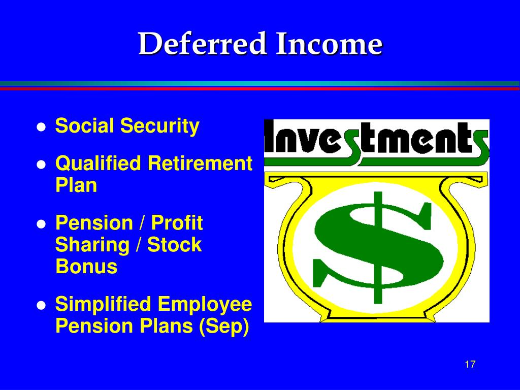 Deferred Income