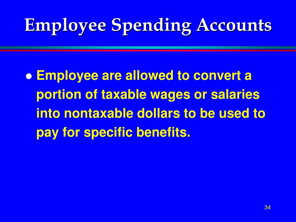 Employee Spending Accounts