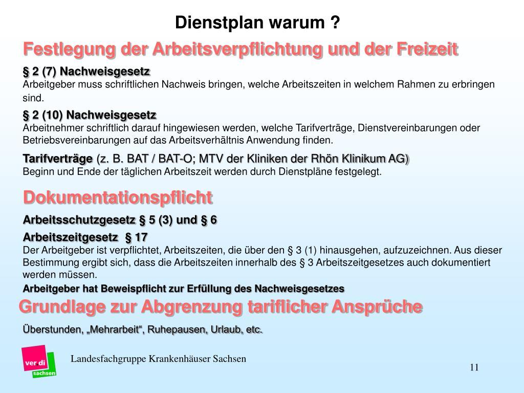 § 2 (7) Nachweisgesetz