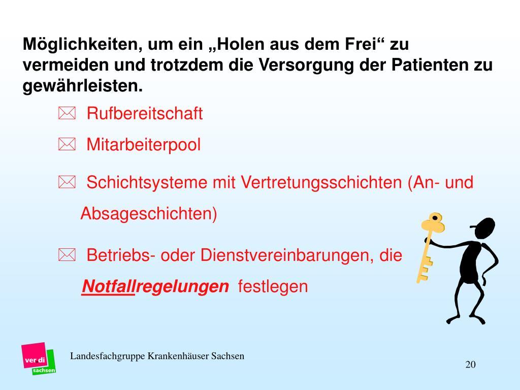 Landesfachgruppe Krankenhäuser Sachsen