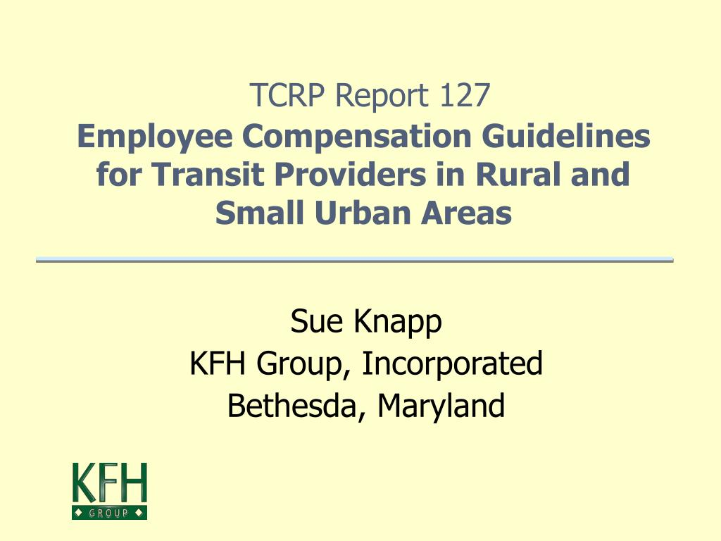 TCRP Report 127