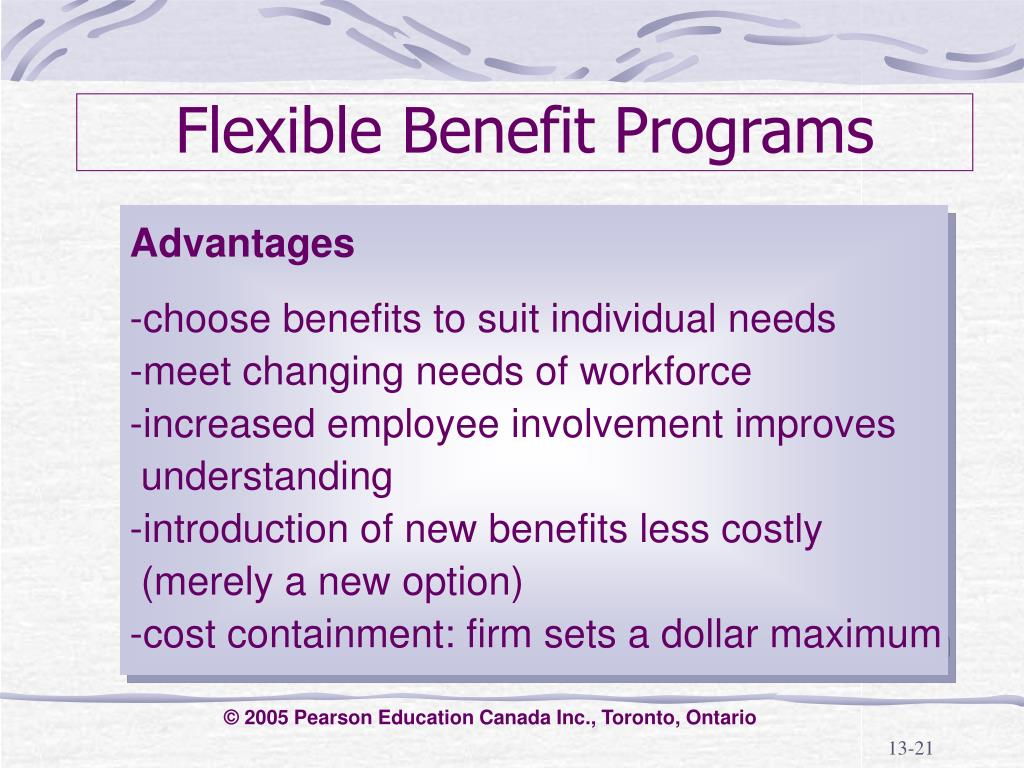 Flexible Benefit Programs