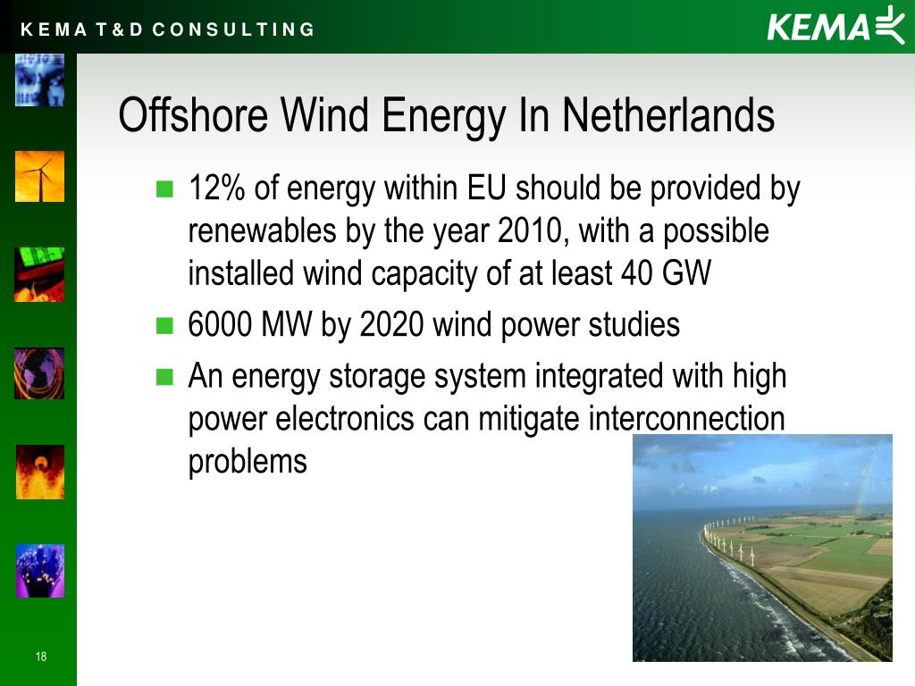 Offshore Wind Energy In Netherlands