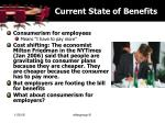 current state of benefits12