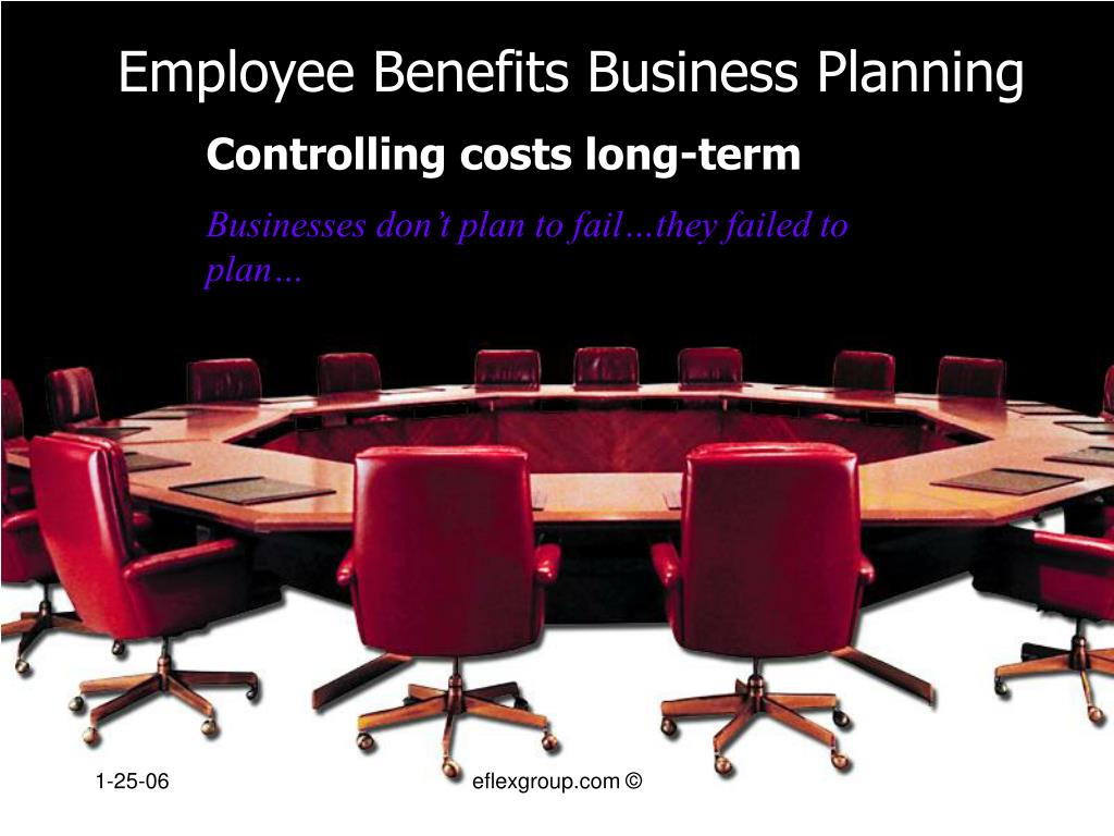 employee benefits business planning