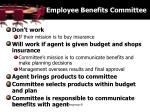 employee benefits committee