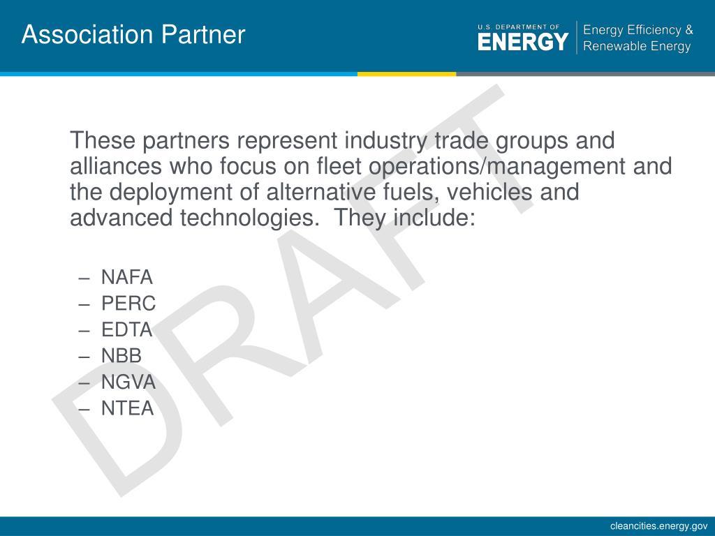 Association Partner