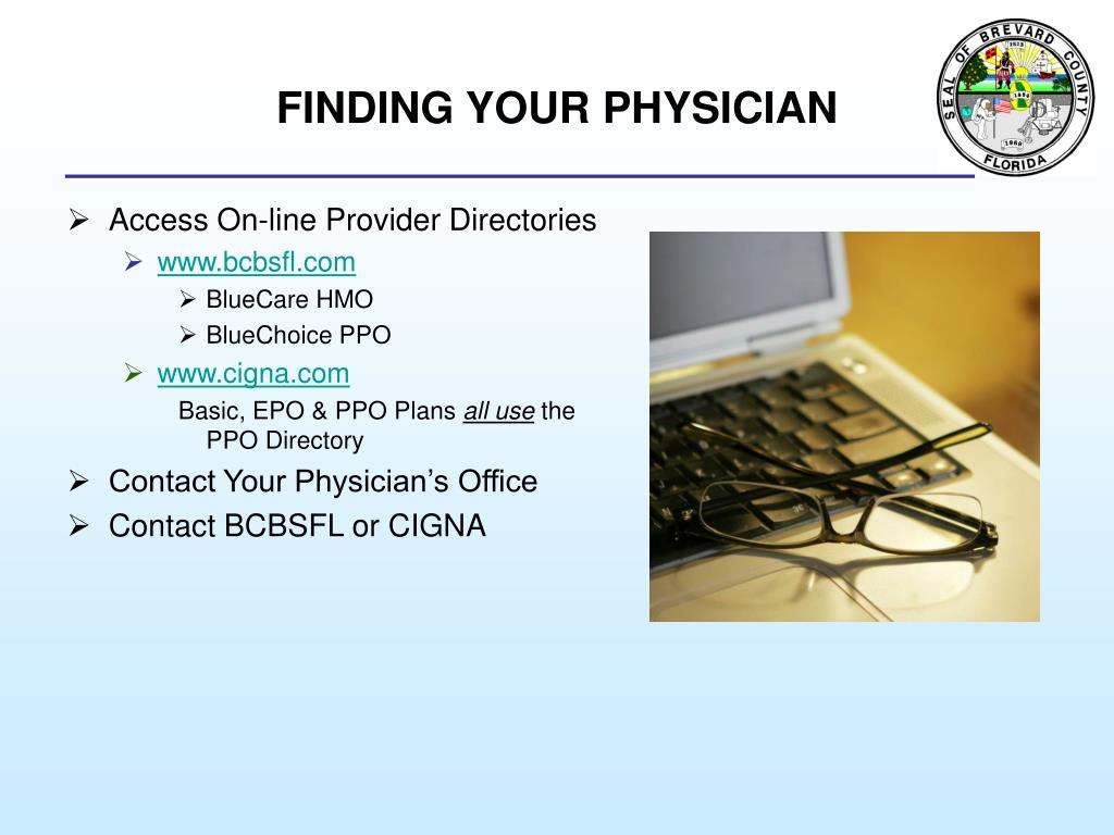 FINDING YOUR PHYSICIAN