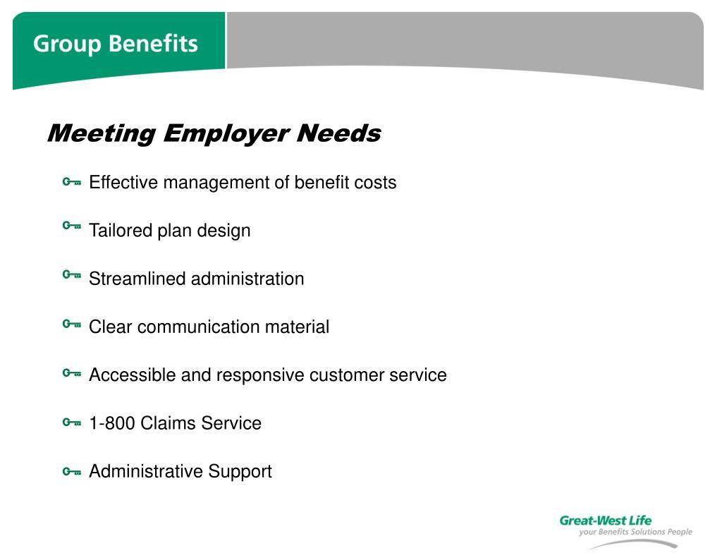Meeting Employer Needs