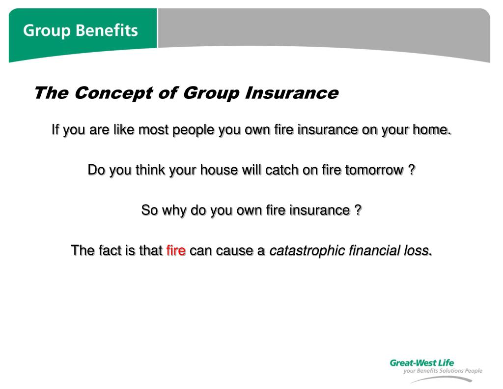 The Concept of Group Insurance