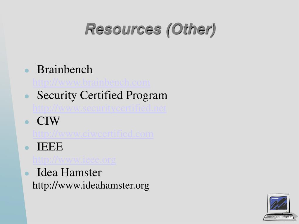Resources (Other)