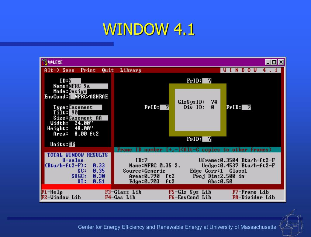 WINDOW 4.1