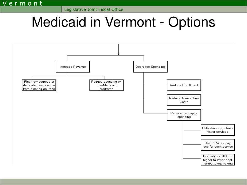 Medicaid in Vermont - Options