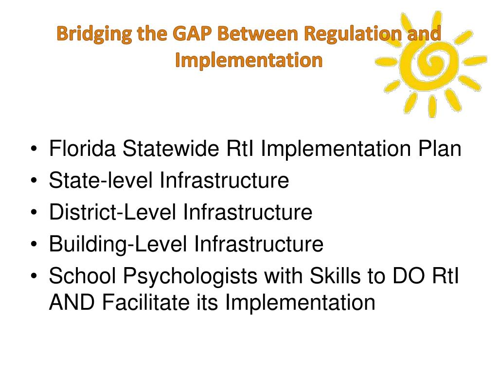 bridging the response to the intervention gap in education