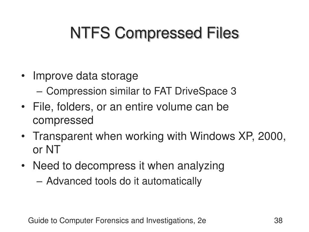 NTFS Compressed Files