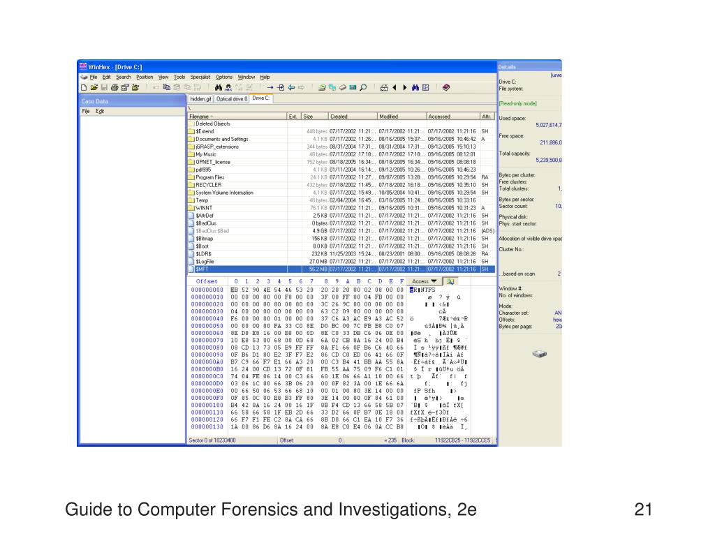 Guide to Computer Forensics and Investigations, 2e