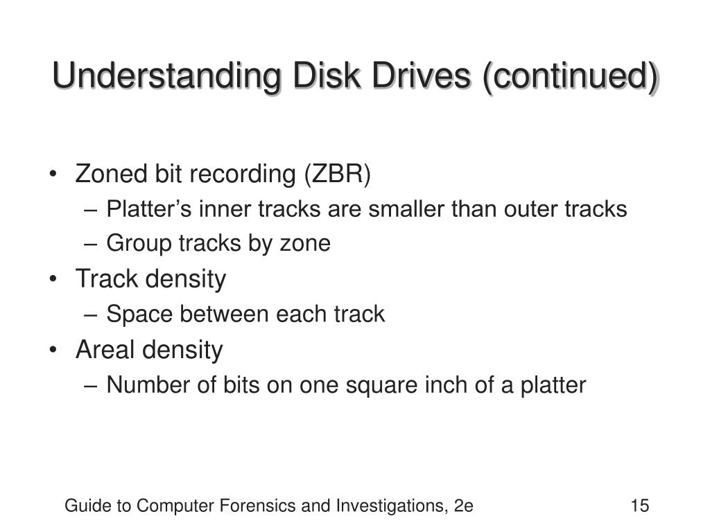 Understanding Disk Drives (continued)