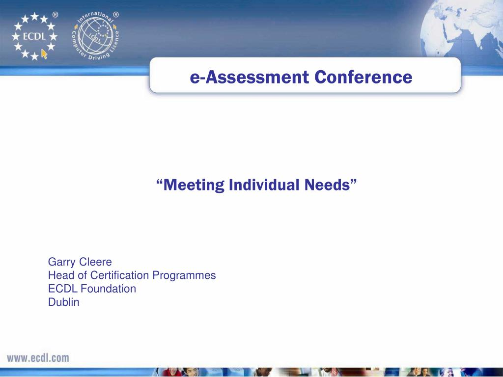 e-Assessment Conference