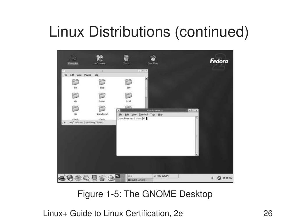 Linux Distributions (continued)