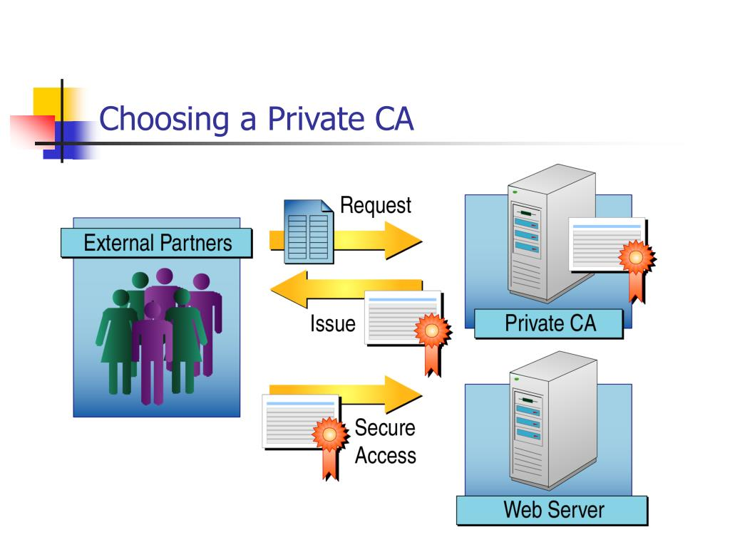 Choosing a Private CA