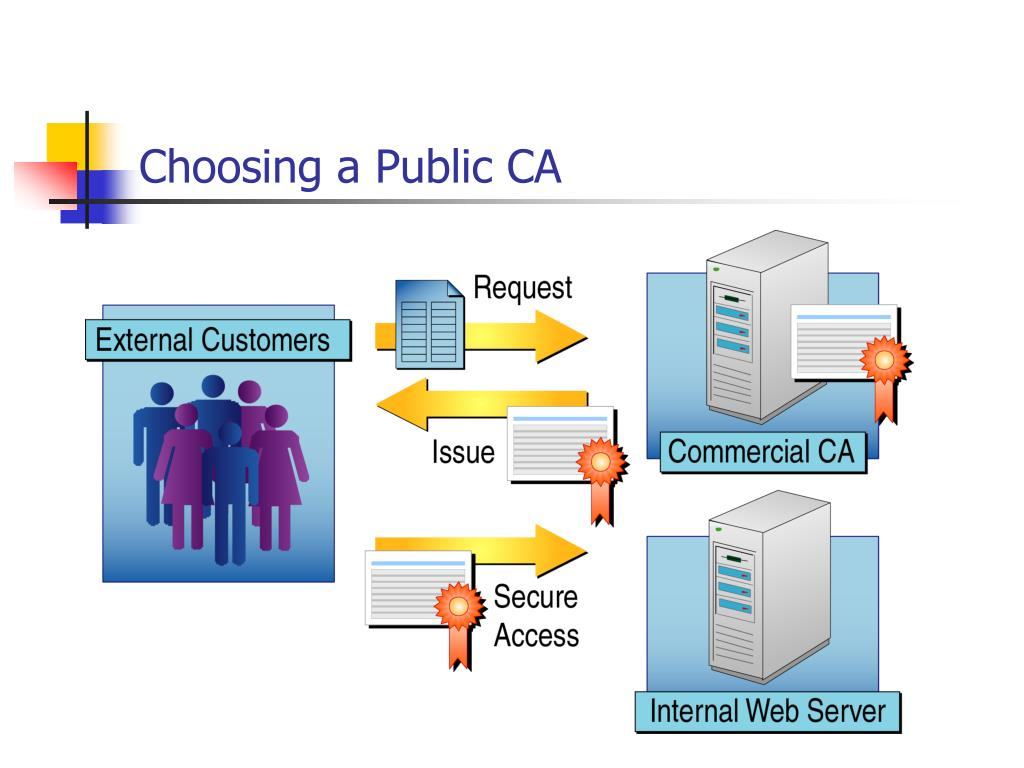 Choosing a Public CA