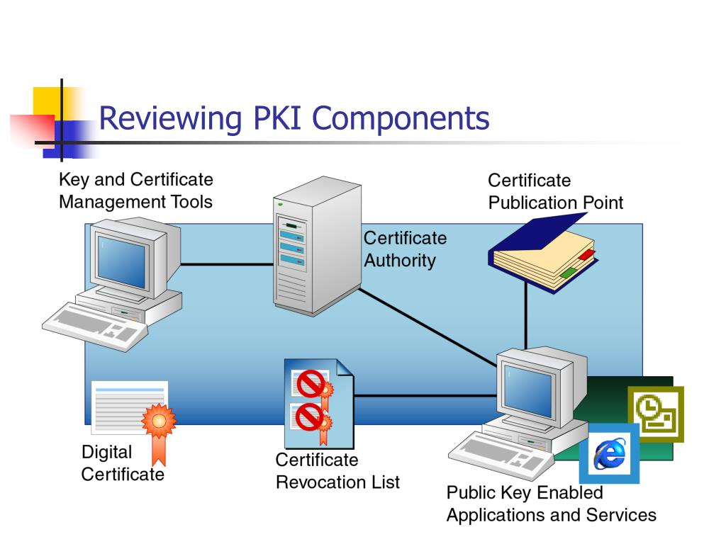 Reviewing PKI Components