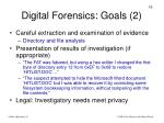 digital forensics goals 2