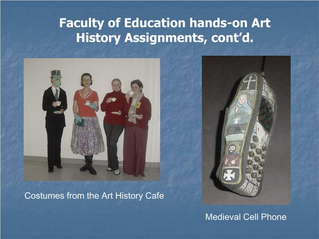 Faculty of Education hands-on Art