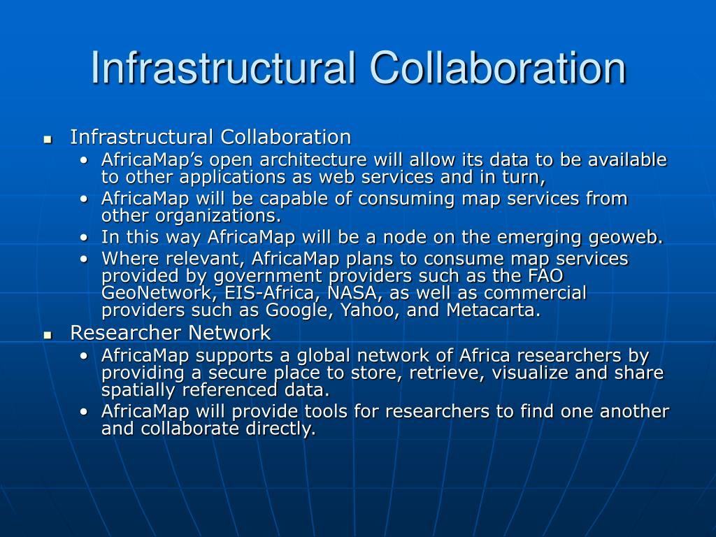 Infrastructural Collaboration