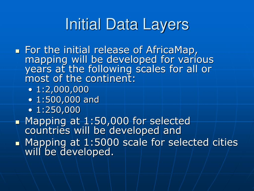 Initial Data Layers