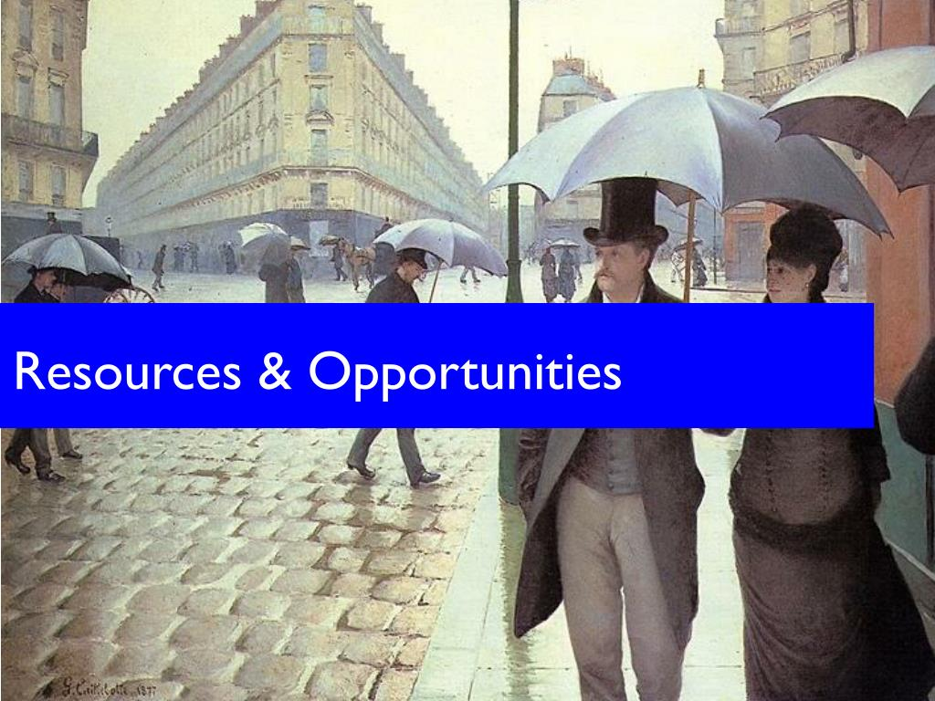 Resources & Opportunities