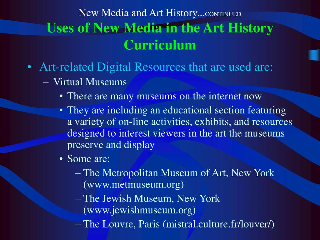 New Media and Art History...