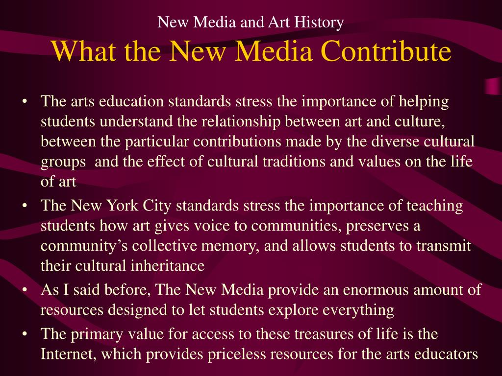 New Media and Art History