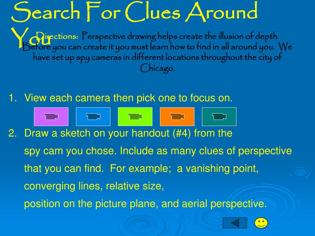 Search For Clues Around You