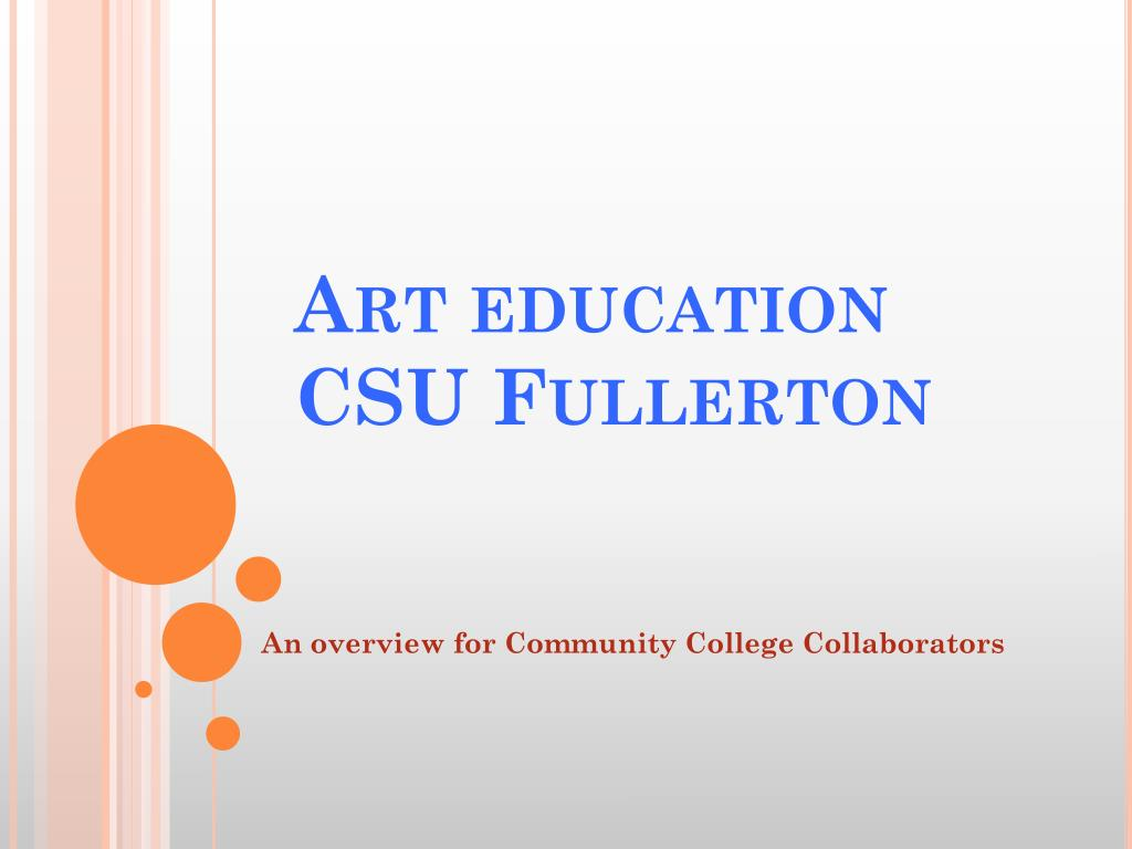 art education csu fullerton