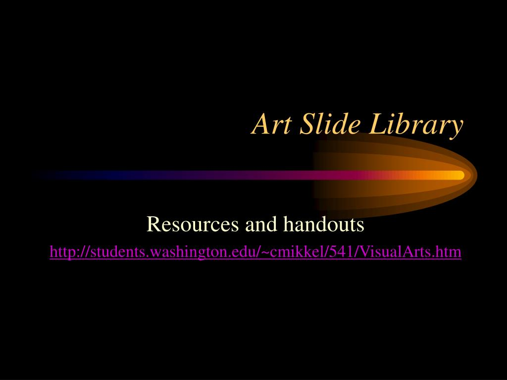 Art Slide Library
