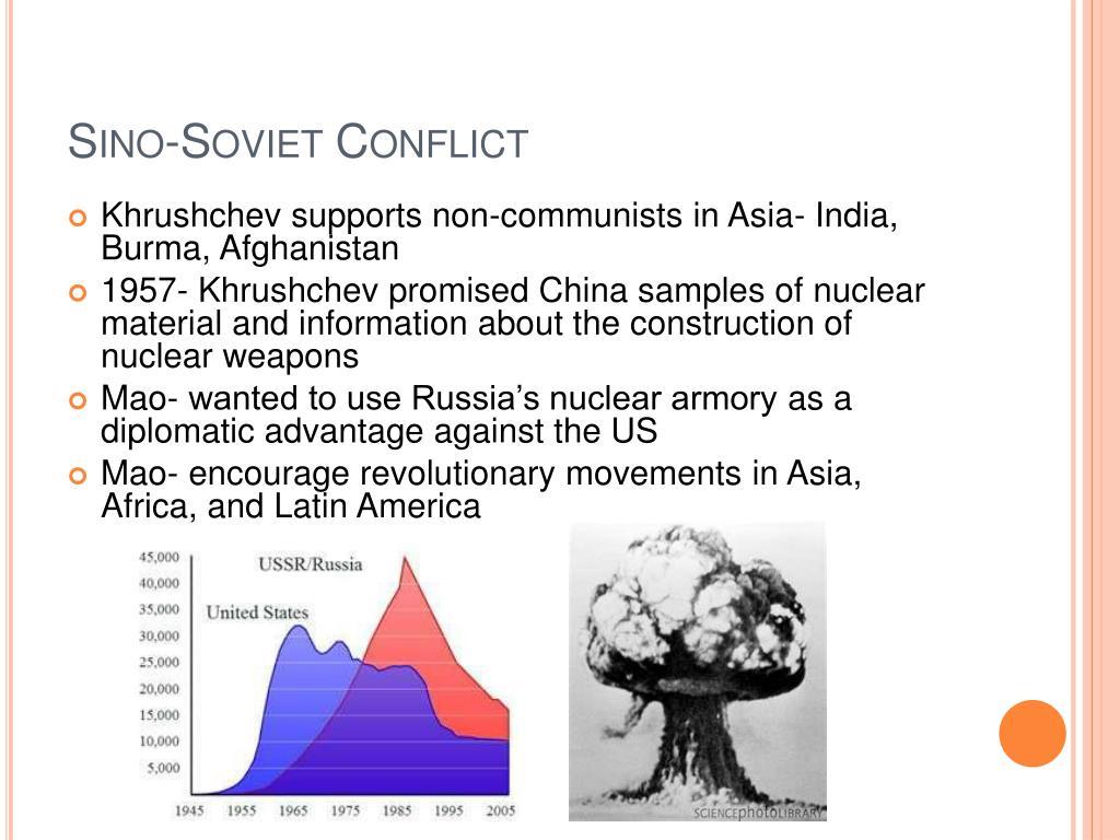 Sino-Soviet Conflict