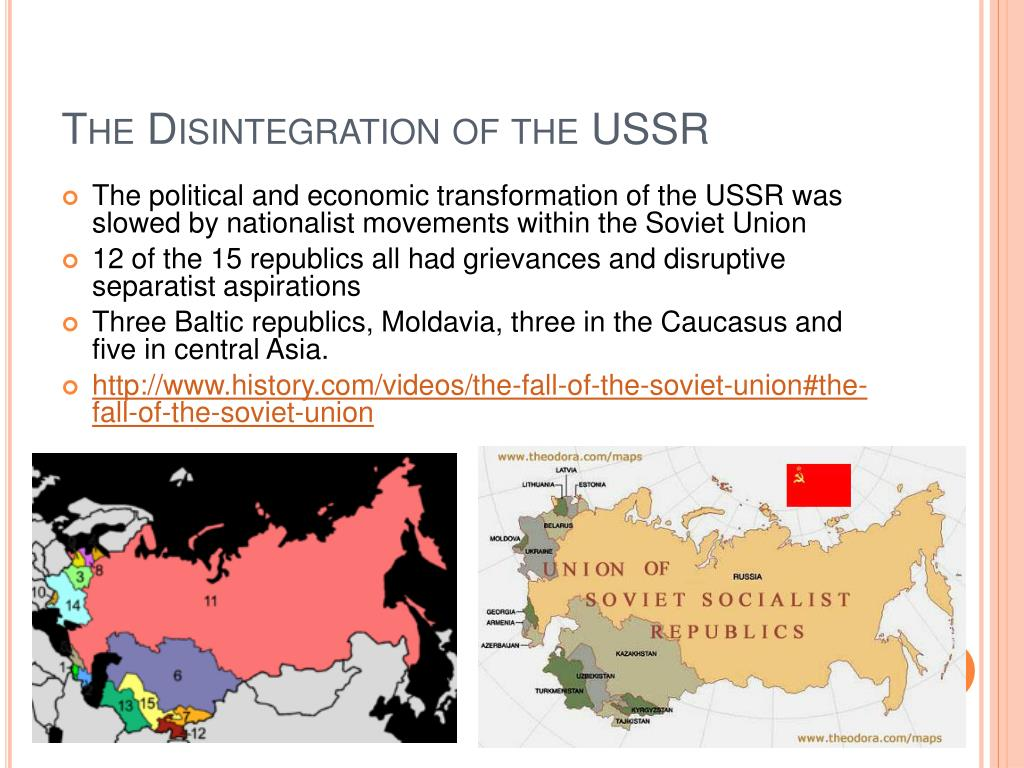 The Disintegration of the USSR