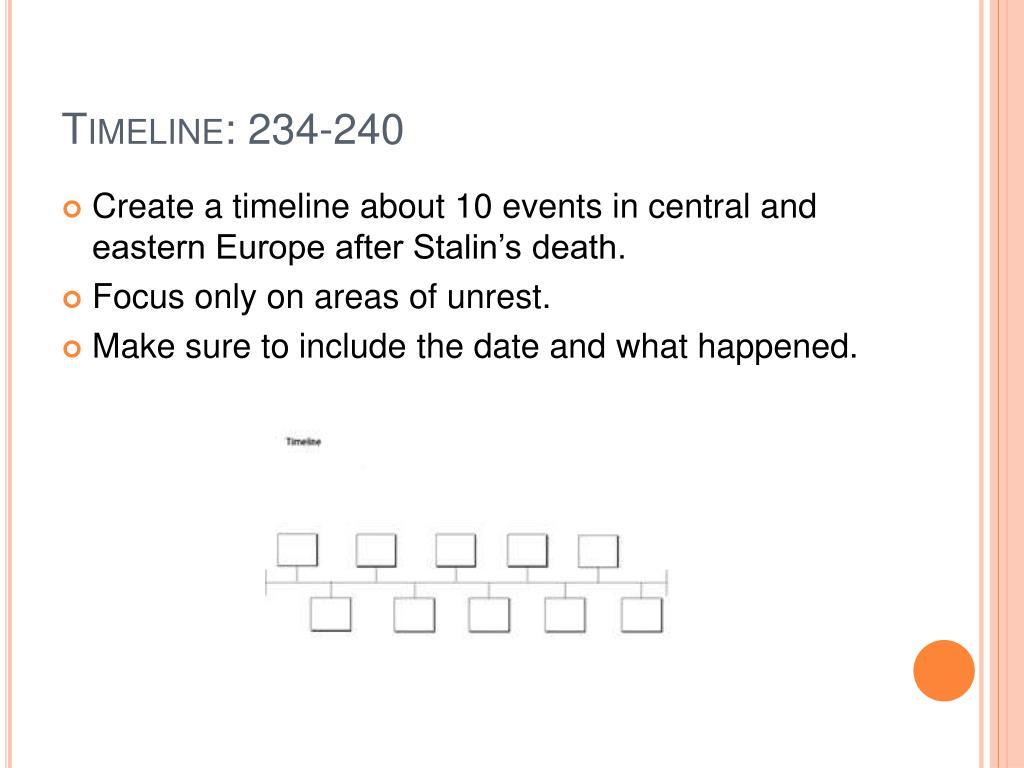 Timeline: 234-240