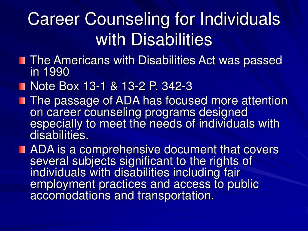 counseling people with disabilities 1 benefits counseling to promote employment il ips supported employment transformation initiative  benefits counseling to promote employment for people with disabilities.