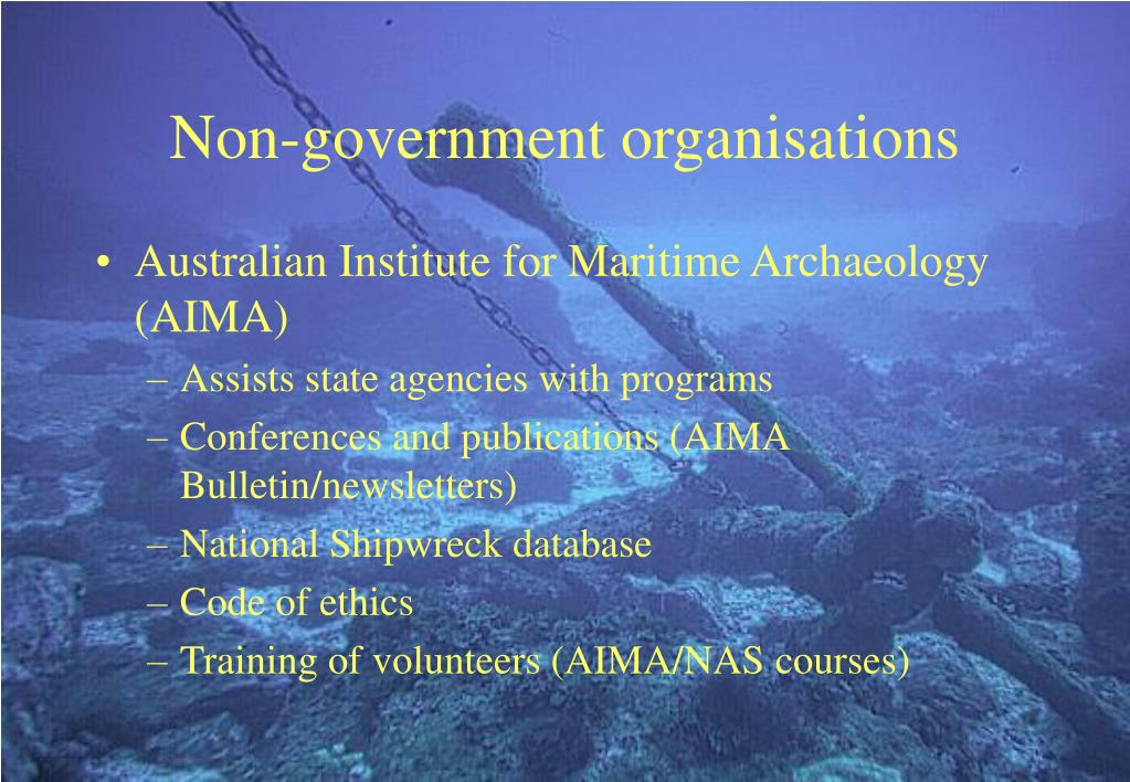 Non-government organisations