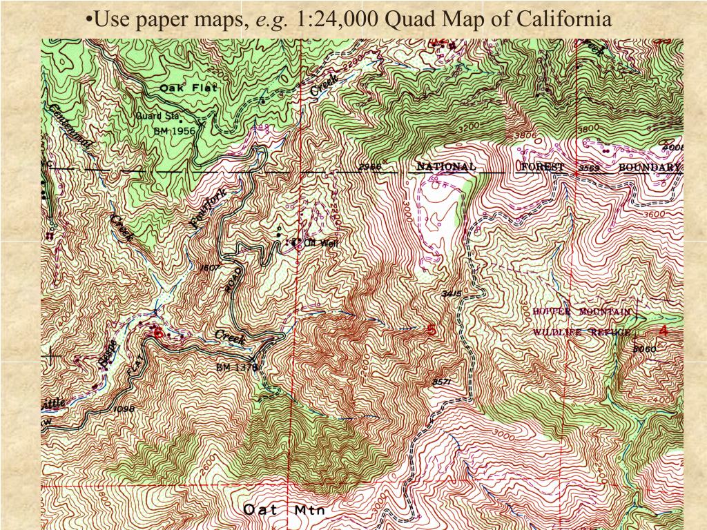 Use paper maps,