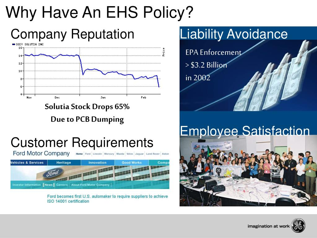 Why Have An EHS Policy?
