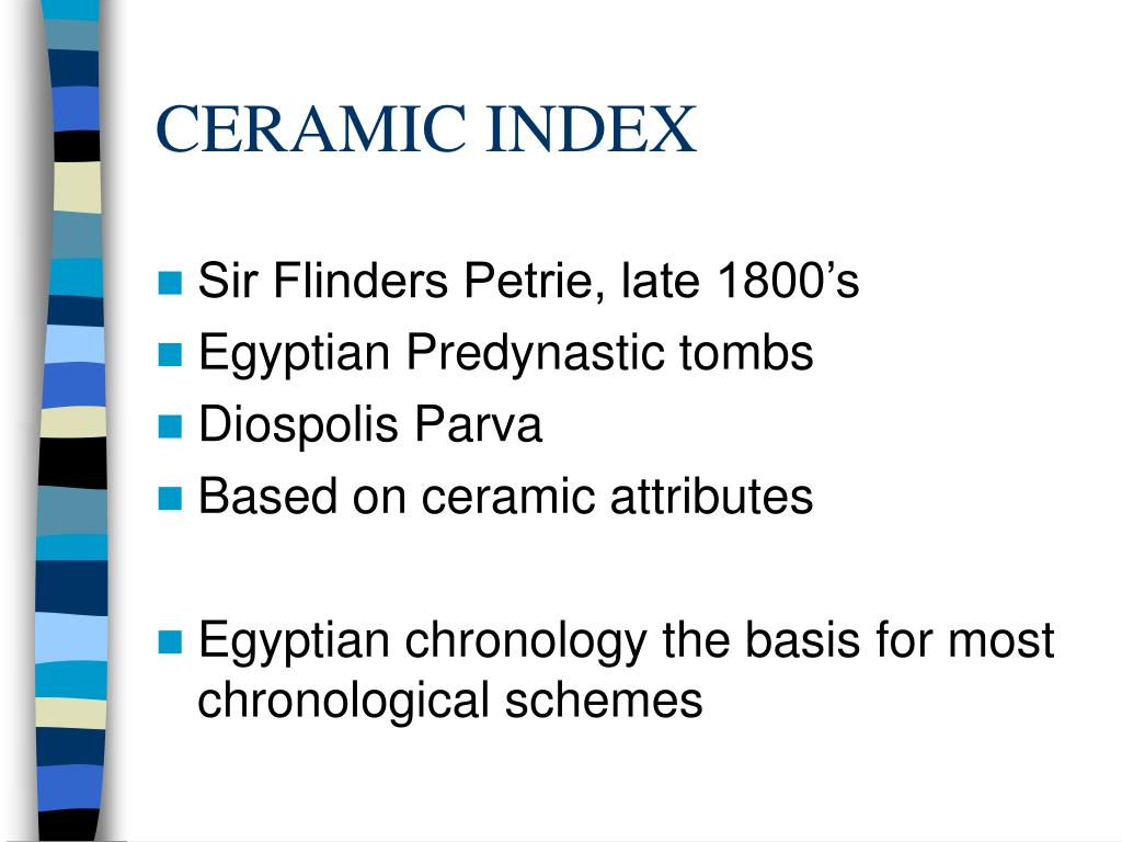 CERAMIC INDEX