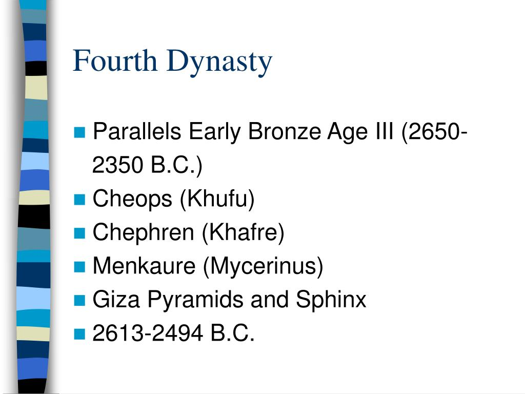 Fourth Dynasty