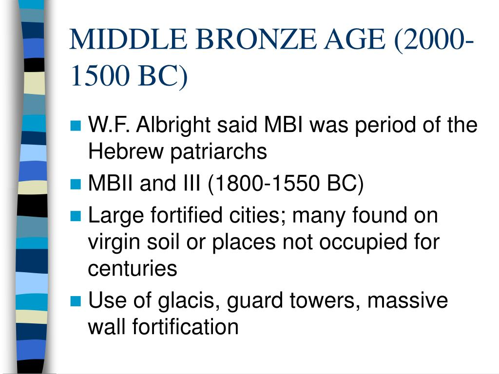 MIDDLE BRONZE AGE (2000-1500 BC)