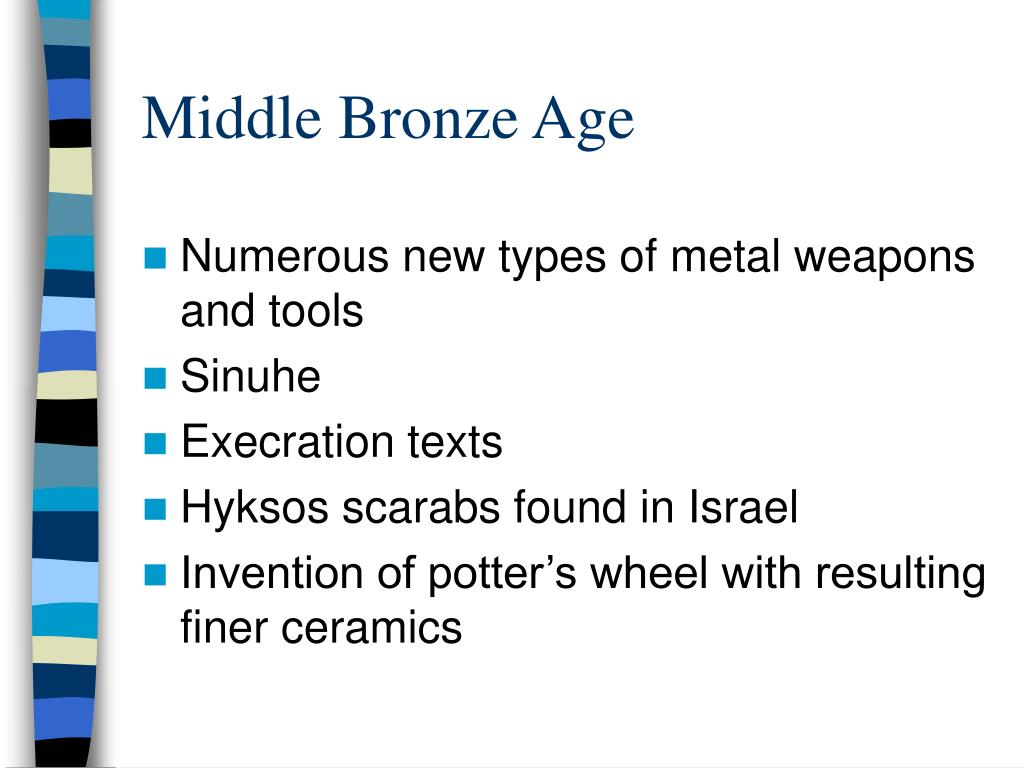 Middle Bronze Age