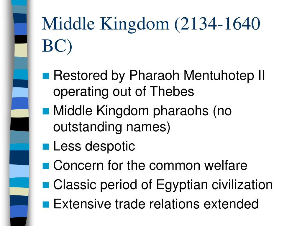 Middle Kingdom (2134-1640 BC)