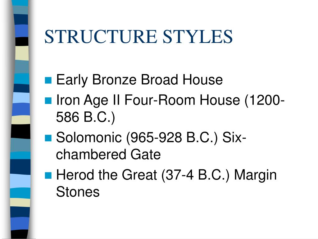 STRUCTURE STYLES
