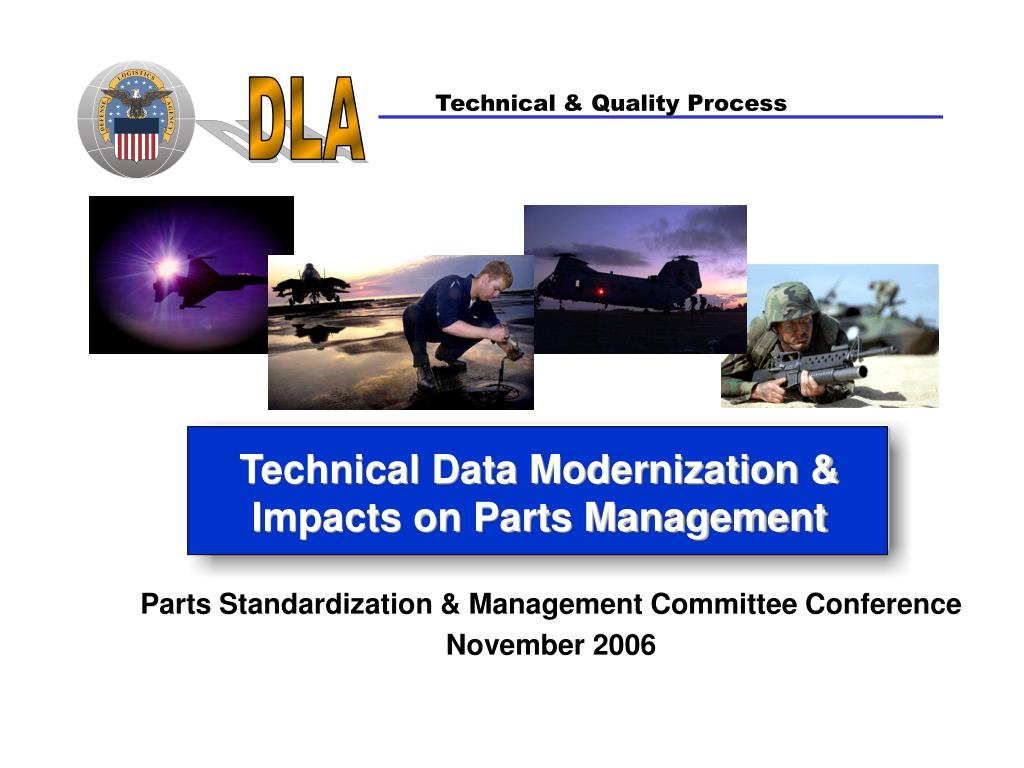 Parts Standardization & Management Committee Conference